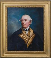 18th Century British Royal Navy Portrait Admiral Barrington JOSHUA REYNOLDS