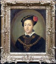 18th Century English School Portrait of King Edward VI (1537-1553)