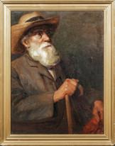 Early 20th Century Portrait Of Impressionist Artist Edgar DEGAS (1834-1917)