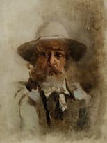 19th Century French Impressionist Portrait Of Claude MONET (1840-1926)