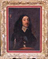 Large 17th Century English Portrait Of Earl Of Pembroke Philip Herbert