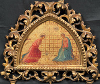 15th Century Italian Renaissance Style The Annunciation Fra Angelico (1395-1455)