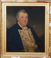 18th Century Naval Portrait Lieutenant (RN) Anthony Jepson of Durham (1749-1807)