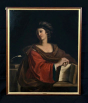 Huge 17th Century Italian Old Master Samian Sybil GUERCINO (1599-1666)