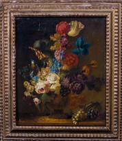 17th Century Dutch Old Master Still Life Flowers Rachel RUYSCH (1664-1750)
