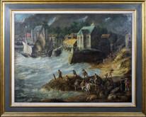 Huge 17th Century Dutch Old Master Sao Paolo Brazil Port Abraham WILLAERTS