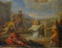 17th Century French Old Master Stoning Of St Stephen Martyr François VERDIER
