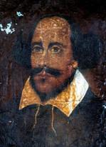17th 18th Century English School William Shakespeare Antique Portrait To Restore