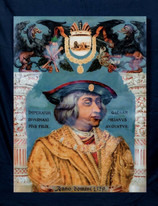 16th Century Portrait Of Maximilian I Holy Roman Emperor Archduke of Austria