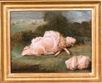 18th Century English Sheep Shorn Fleece Landscape James WARD (1769-1859)