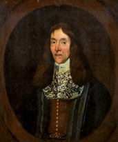 Large 17th Century Portrait Of A Royalist Justice Of The Peace Middlesex
