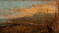 18th 19th Century Constantinople Istanbul Golden Horn Landscape Félix ZIEM