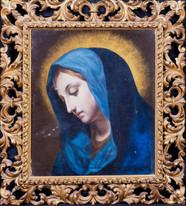 17th Century Italian Old Master Mary Madonna Portrait CARLO DOLCO (1616-1686)