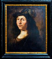 Large 17th Century Dutch Old Master Portrait Of Merchant Gentleman GOVERT FLINCK