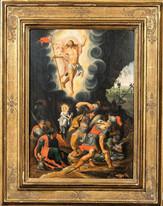 16th Century German Old Master Resurrection Christ Christoph SCHWARZ (1545-1592)