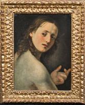 Fine 16th Century Italian Old Master Nude Boy Portrait Antique Oil Painting