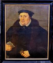 16th Century English Old Master Portrait Sir Thomas Kitson Sheriff Of London