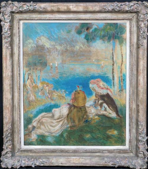 19th Century French Impressionist Landscape Pierre-Auguste RENOIR (1841-1919)