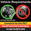 MPC 1-Button Remote Starter For 2005-2007 Nissan Frontier - Gas - Key-To-Start