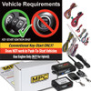 MPC Ford E-150 2009-2010 2 Way LCD Remote Start w/Keyless Entry Kit
