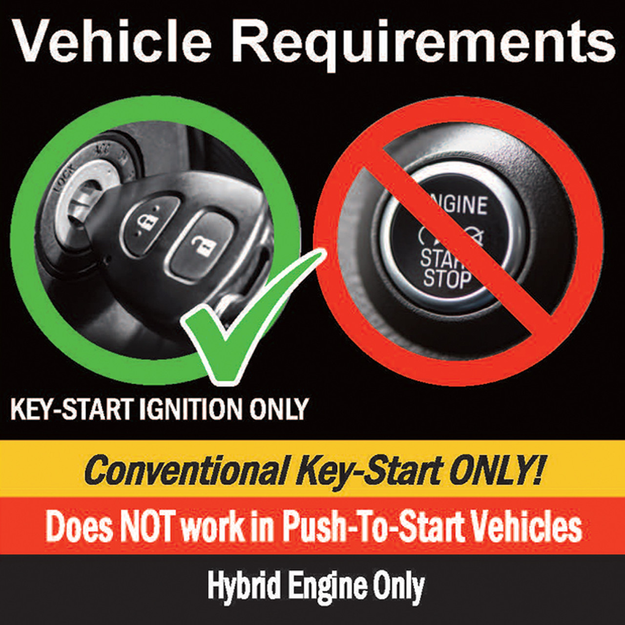 MPC Ford Fusion Hybrid 2014-2018 Plug-n-Play OEM Remote Activated Remote Start