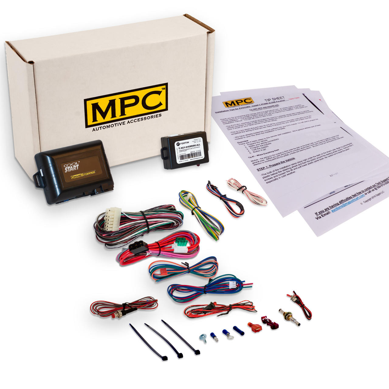 MPC Toyota Solara 1999-2003 Add On Remote Start Kit Fits - Use OEM Fobs To Activate