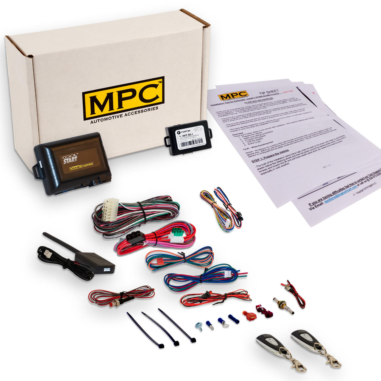 MPC Ford Excursion 2002 Complete 1-Button Remote Start Kit