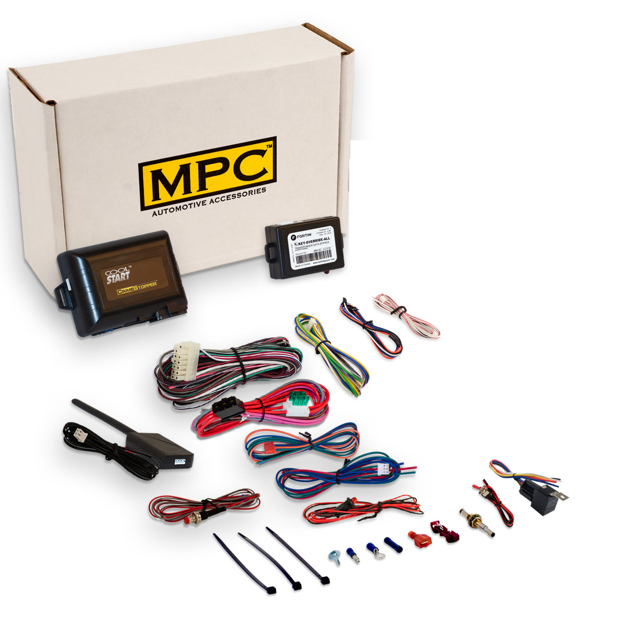 MPC Lincoln Town Car 2003-2004 Complete Remote Start/Keyless Entry