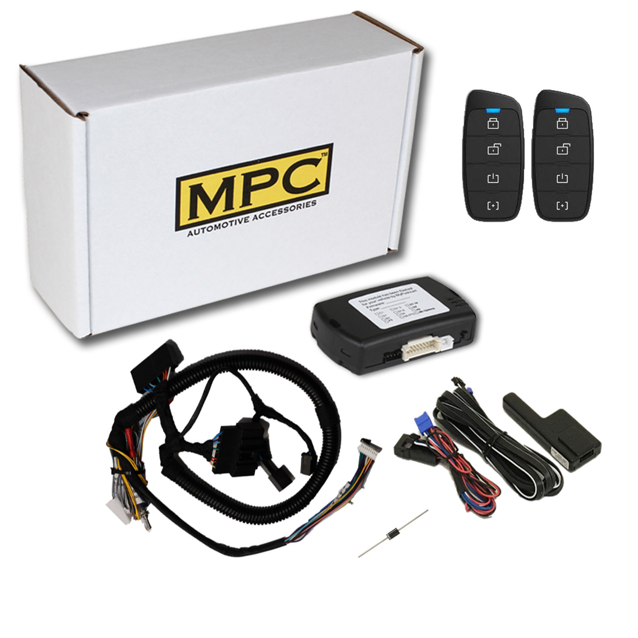 MPC Ford F-350 Super Duty 2011-2016 4-Button Extended Range Remote Starter