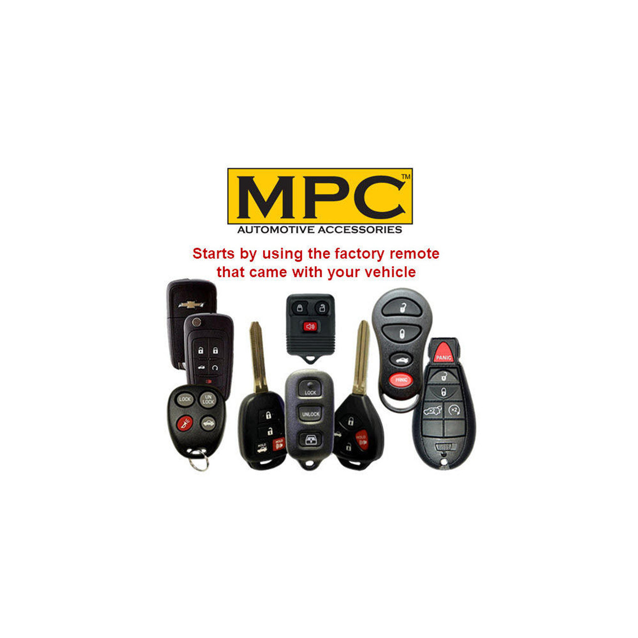 MPC OEM Remote Activated Remote Start For 2018-2021 Jeep Wrangler