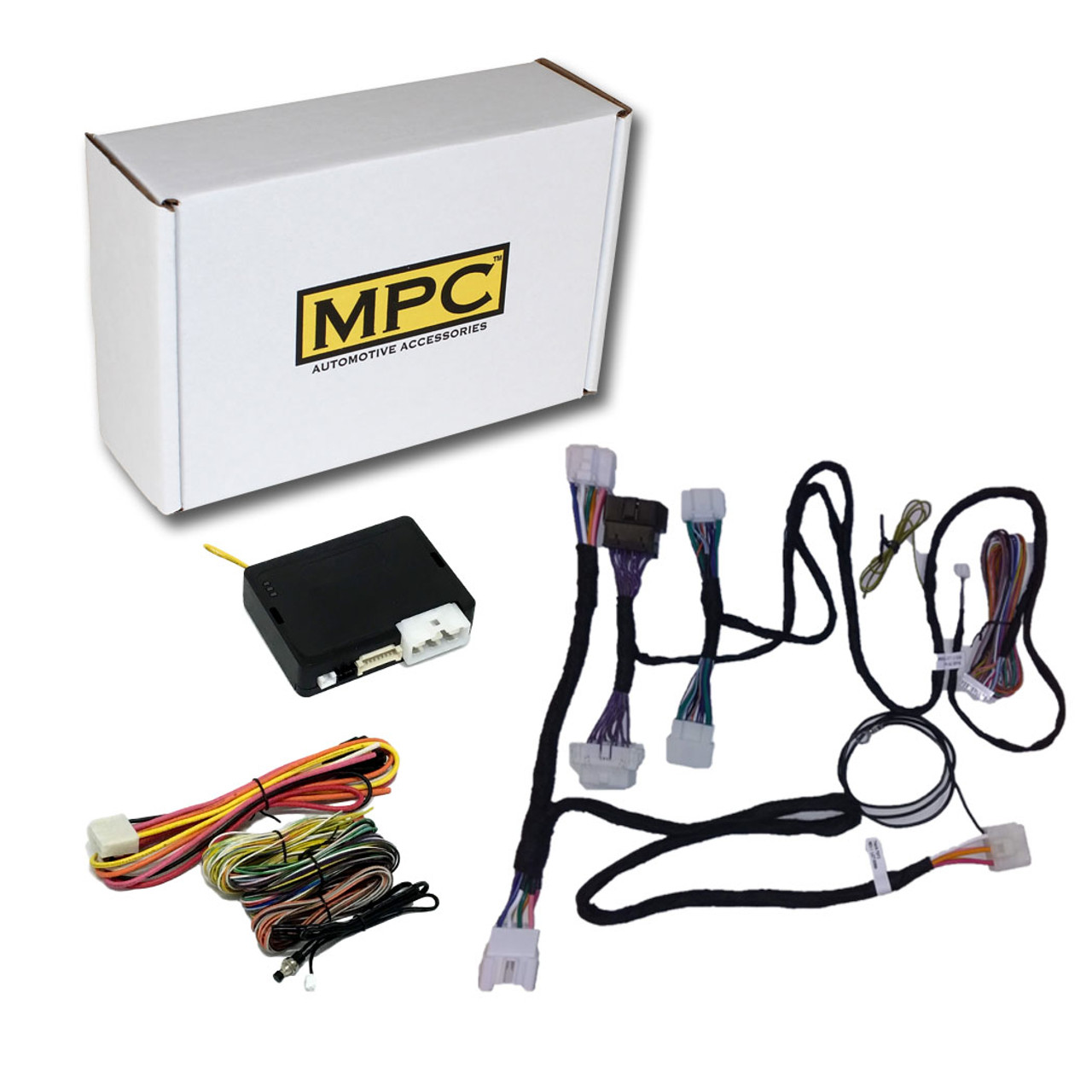 MPC Toyota Yaris 2015-2019 Remote Activated Remote Starter - H-KEY - Gas