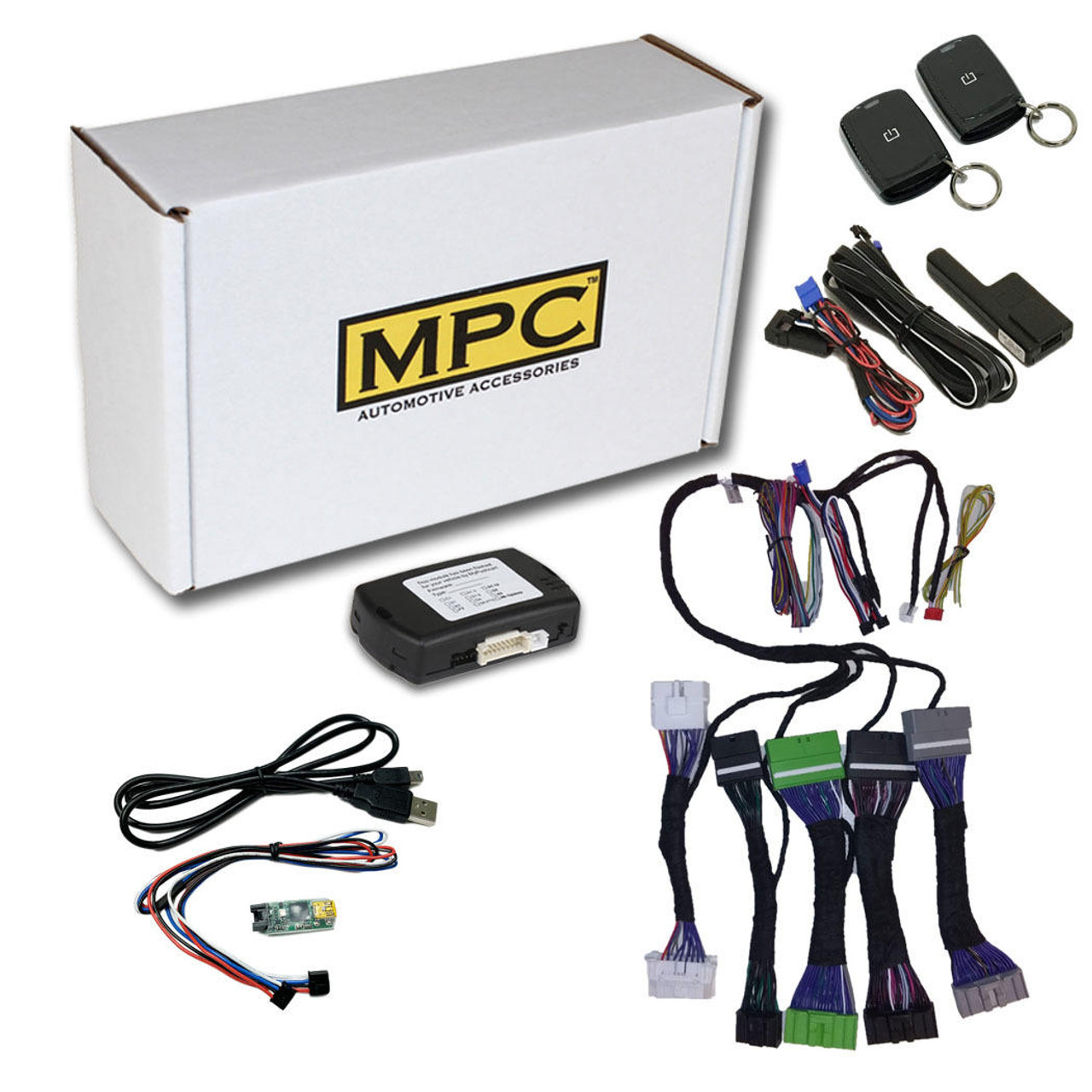MPC 1-Button Remote Activated Remote Start Kit For 2019-2019 Infiniti QX50