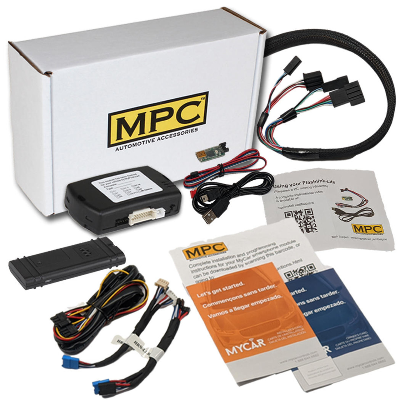 MPC Smartphone / OEM FOB Activated Remote Start Kit For 2014-2018 Chevrolet Impala