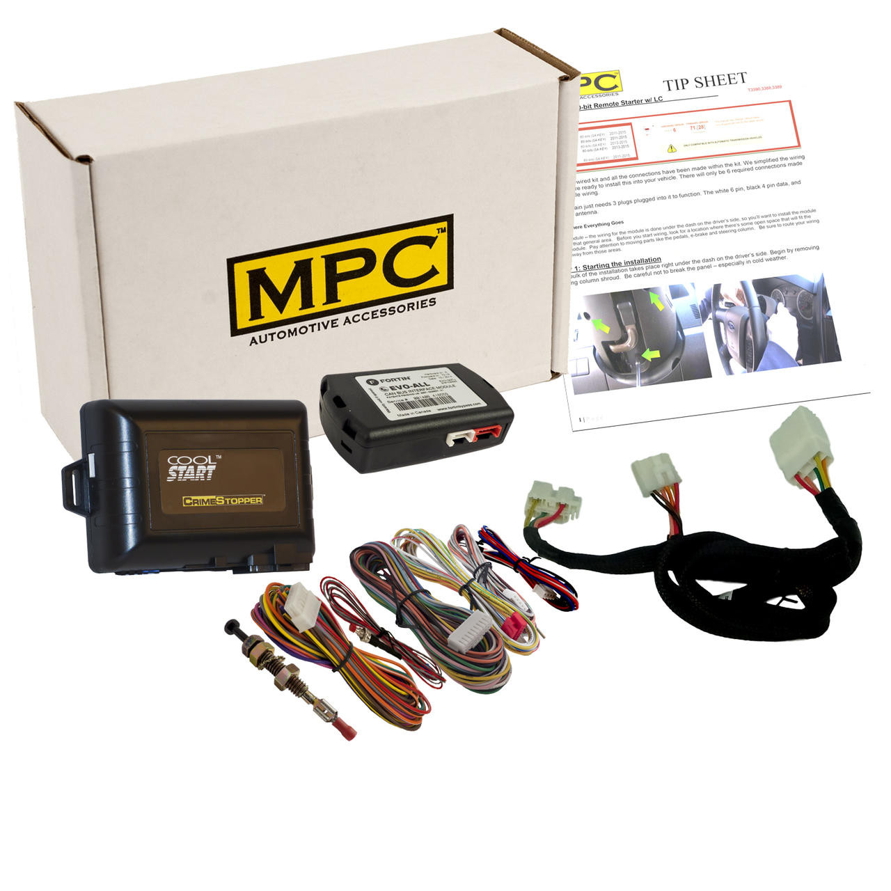 MPC Factory Remote Activated Start Kit For 2020-2021 Hyundai Palisade - Key-to-Start
