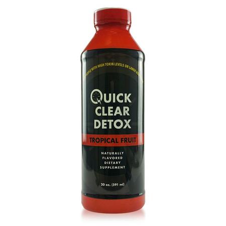 Quick Clear by Spectrum Labs - Tropical 20oz Drink