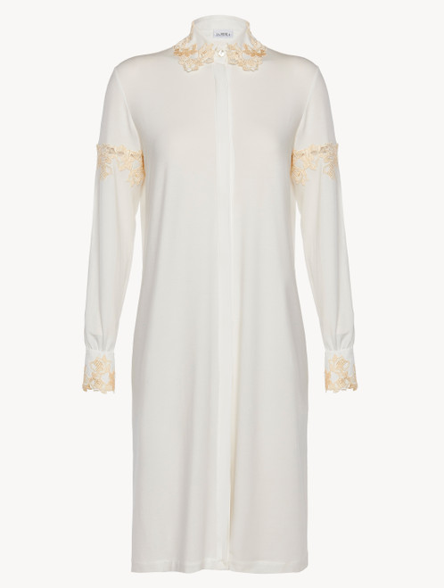 White jersey short nightgown
