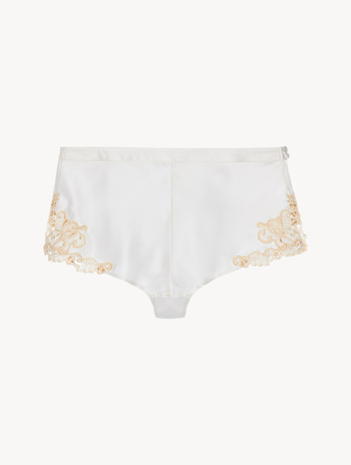 White French knickers with frastaglio