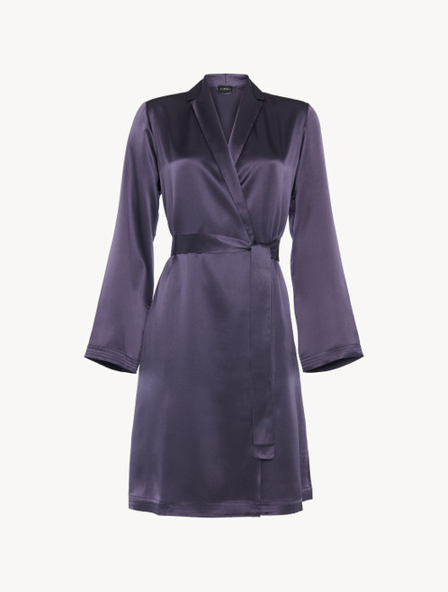 Short robe in violet