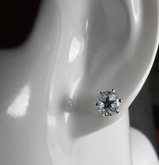 Texas topaz stud earring.
