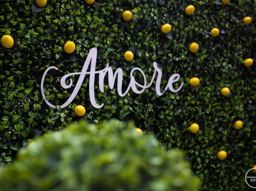 Custom Amore Wooden Words Cursive Natural Wood Sign Love Wreath Board Home Table Welcome Baby Shower Birthday Bridal Wedding Backdrop
