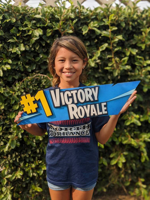 Victory Royale Gamer Sign