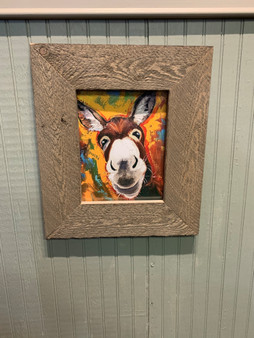 Donkey Framed Picture