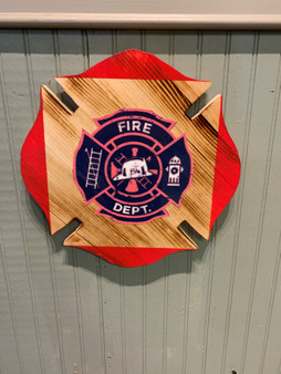 Picture Firemans badge