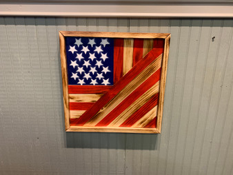 American flag quilted