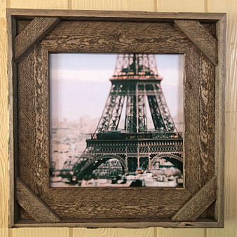 Rustic Eiffel Tower Picture