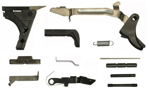 $35 Limited Stock Glock Style LOWER PARTS KIT - 19/17/23 FITS Polymer 80 / OEM Gen 3