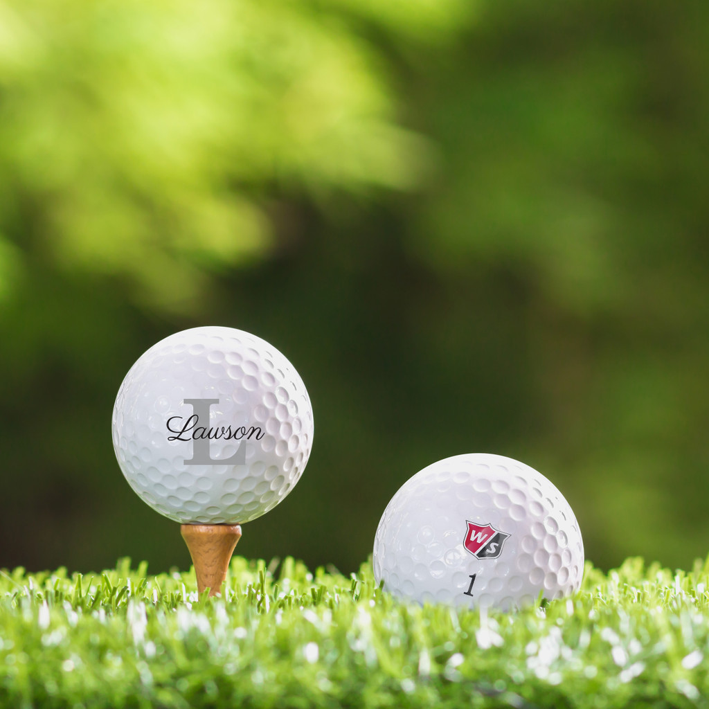 Wilson Staff Custom Printed Golf Ball - Lawson