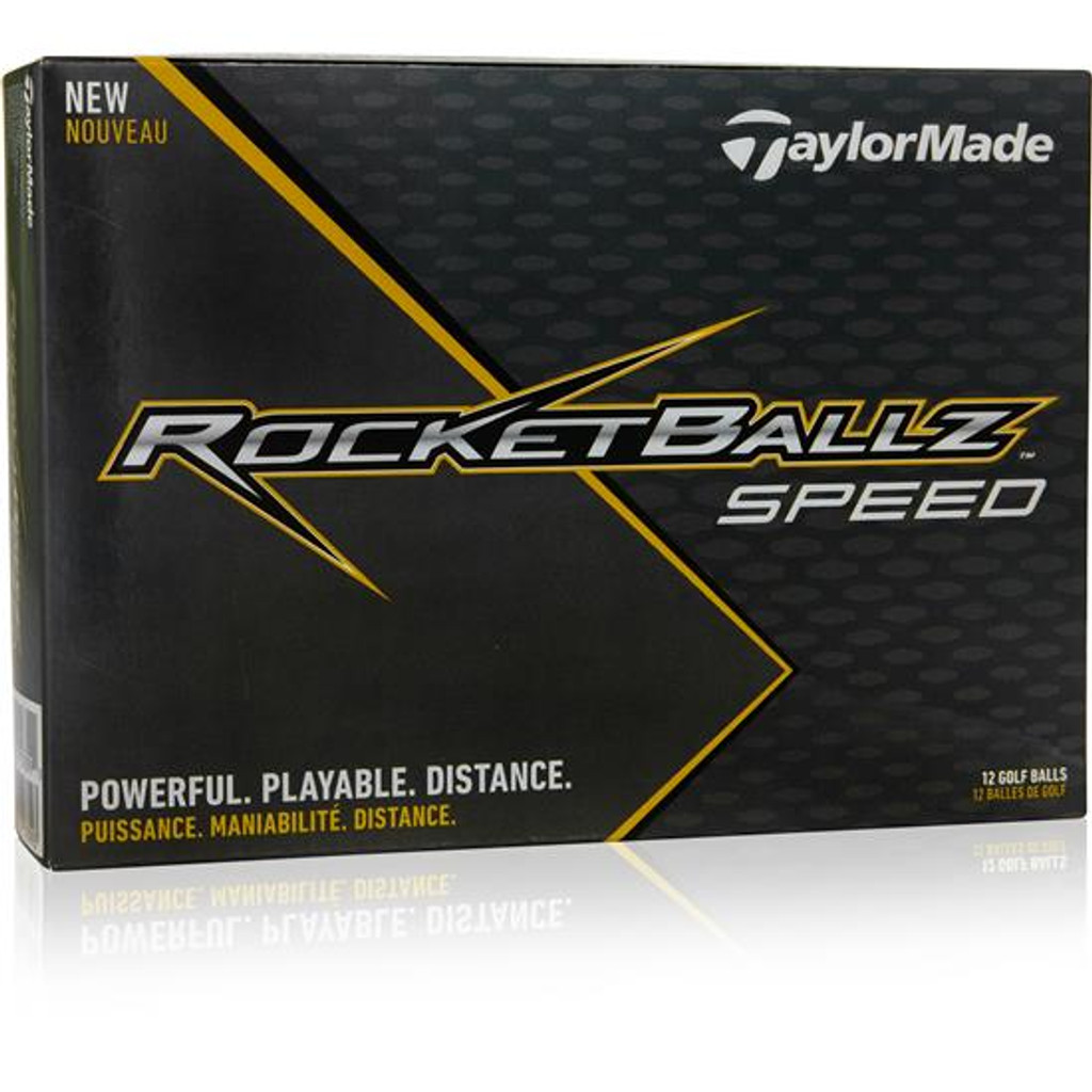 TaylorMade Rocketballz Speed Custom Printed Golf Ball - Initial Style 2