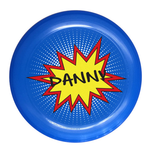 Personalized Frisbee - Danny