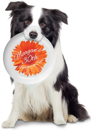 Flower  Personalized Frisbee